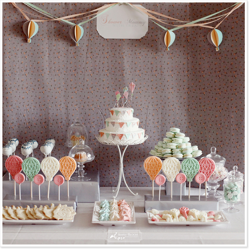 Ambitious and combative baby shower deko selber machen for Baby shower party deko