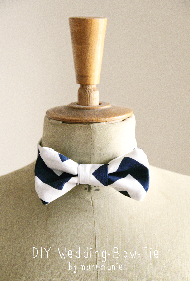 Fliege BowTie Do it yourself oder selbermachen