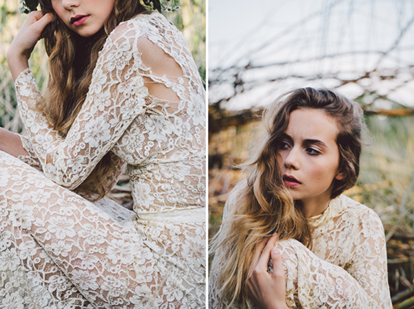 Spring Bohemian Style Shoot By Somethingblue Photography