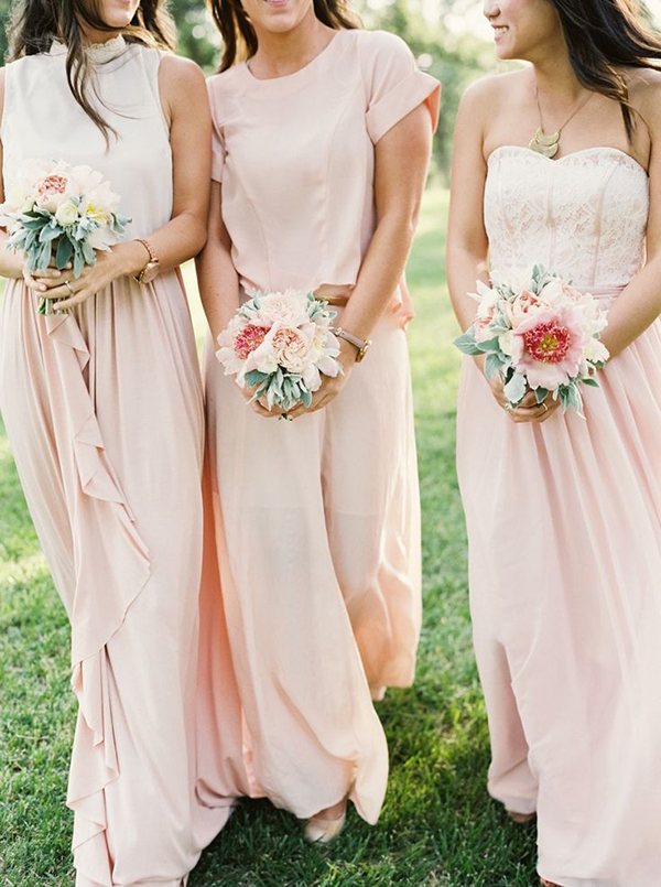 Bridesmaids Laura Gordon Photography Style me pretty Wedding Sparrow 25 best Bridesmaid Dresses Hochzeitsblog News Schweiz stylehaeppchen.ch