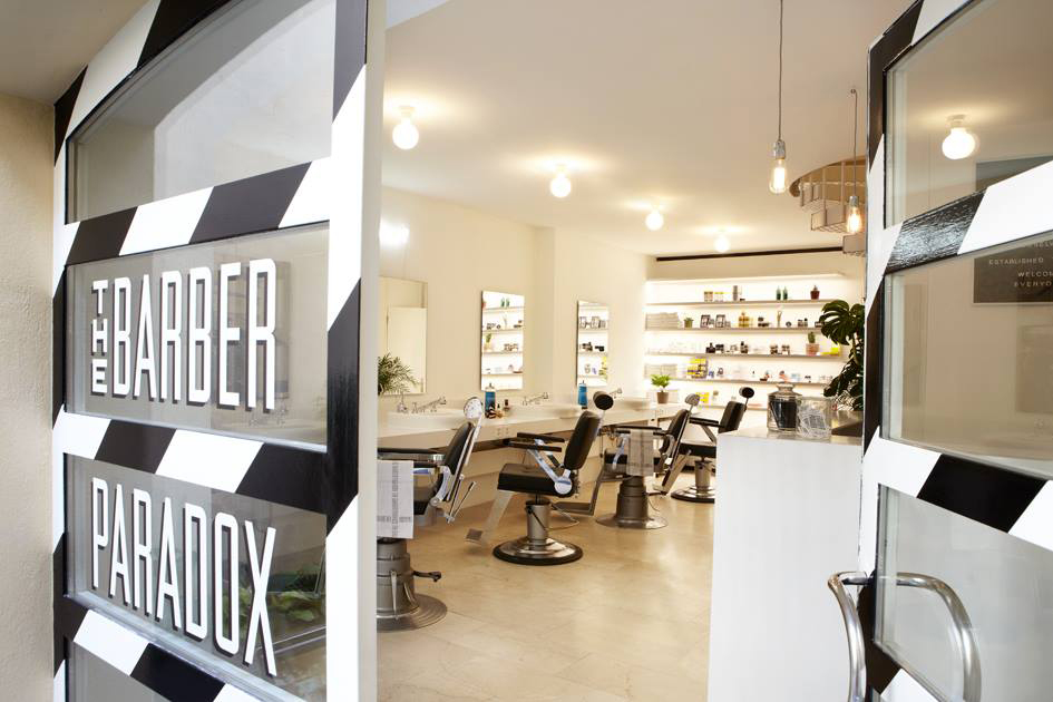 Schweizer Barber Shop in Zürich the barber paradox