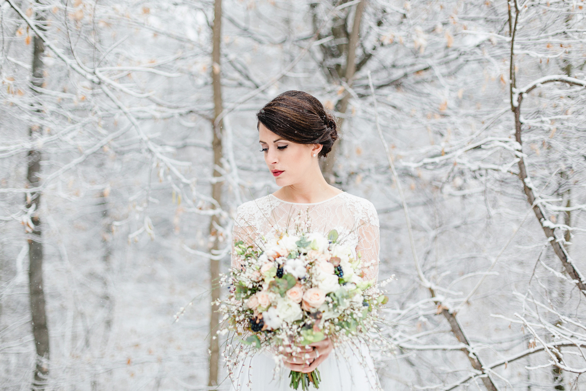 Winter Bridal Inspiration Shoot Wild at heart